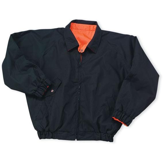 Cobra Caps Reversible Safety Jacket Large - Safety Orange/Black