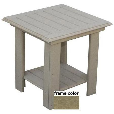 Eagle One Recycled Plastic Lexington End Table - Driftwood