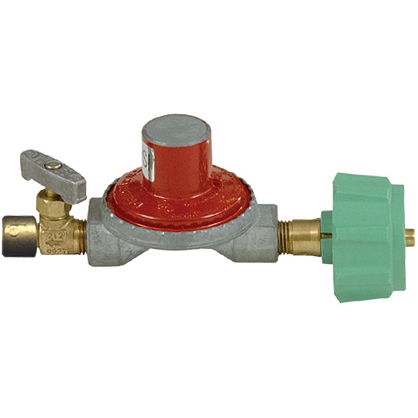 Bayou Classic High Pressure Regulator With Control Valve