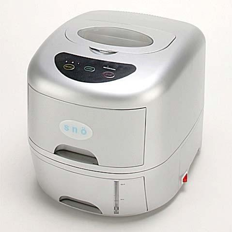 Whynter T-1A SNO Compact Portable Ice Maker With Water Connection - Platinum