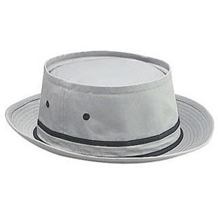Otto Cap Cotton Twill Fisherman Hat L/XL - Gray/Black