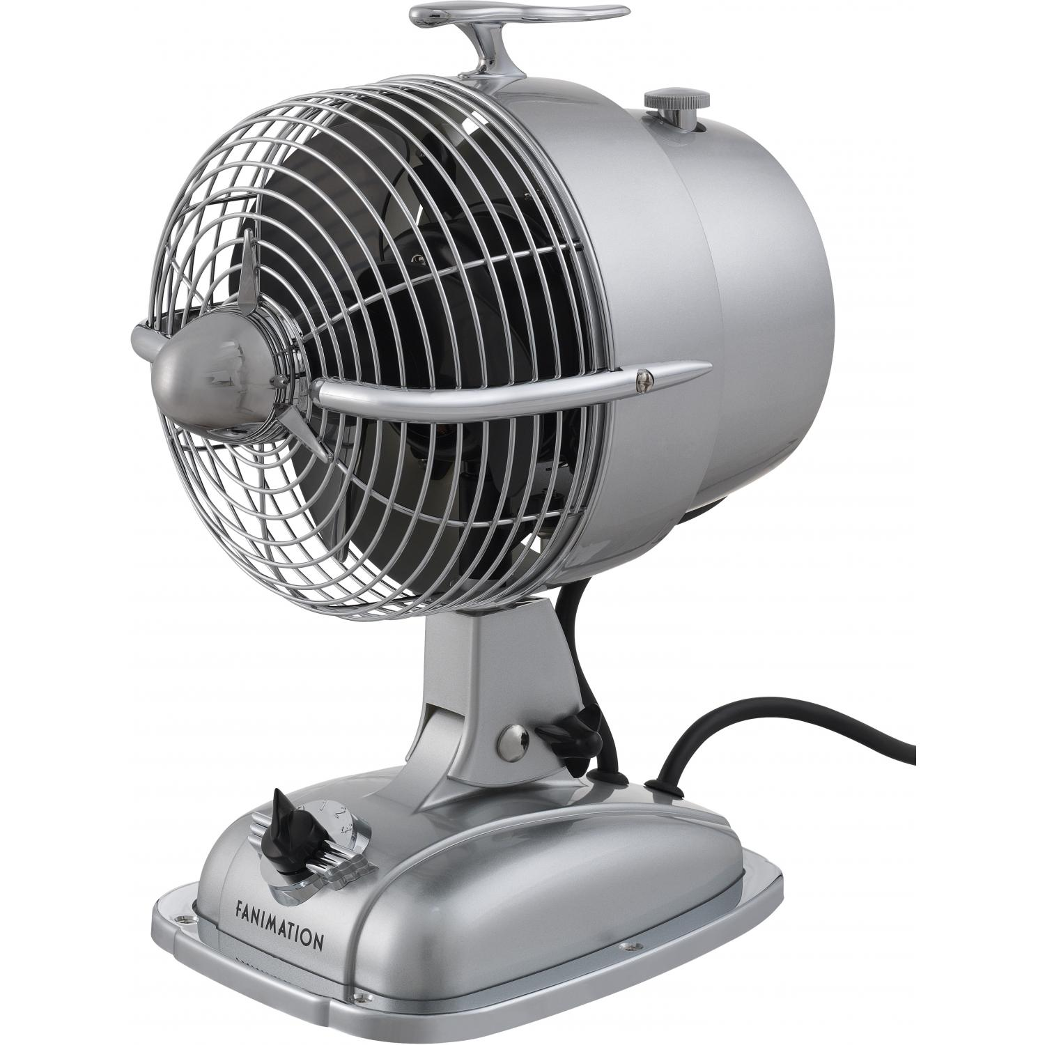 Picture of Fanimation Urbanjet Desktop Fan - Sonic Silver