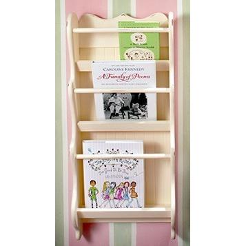 New Arrivals Wooden Wall Bookholder