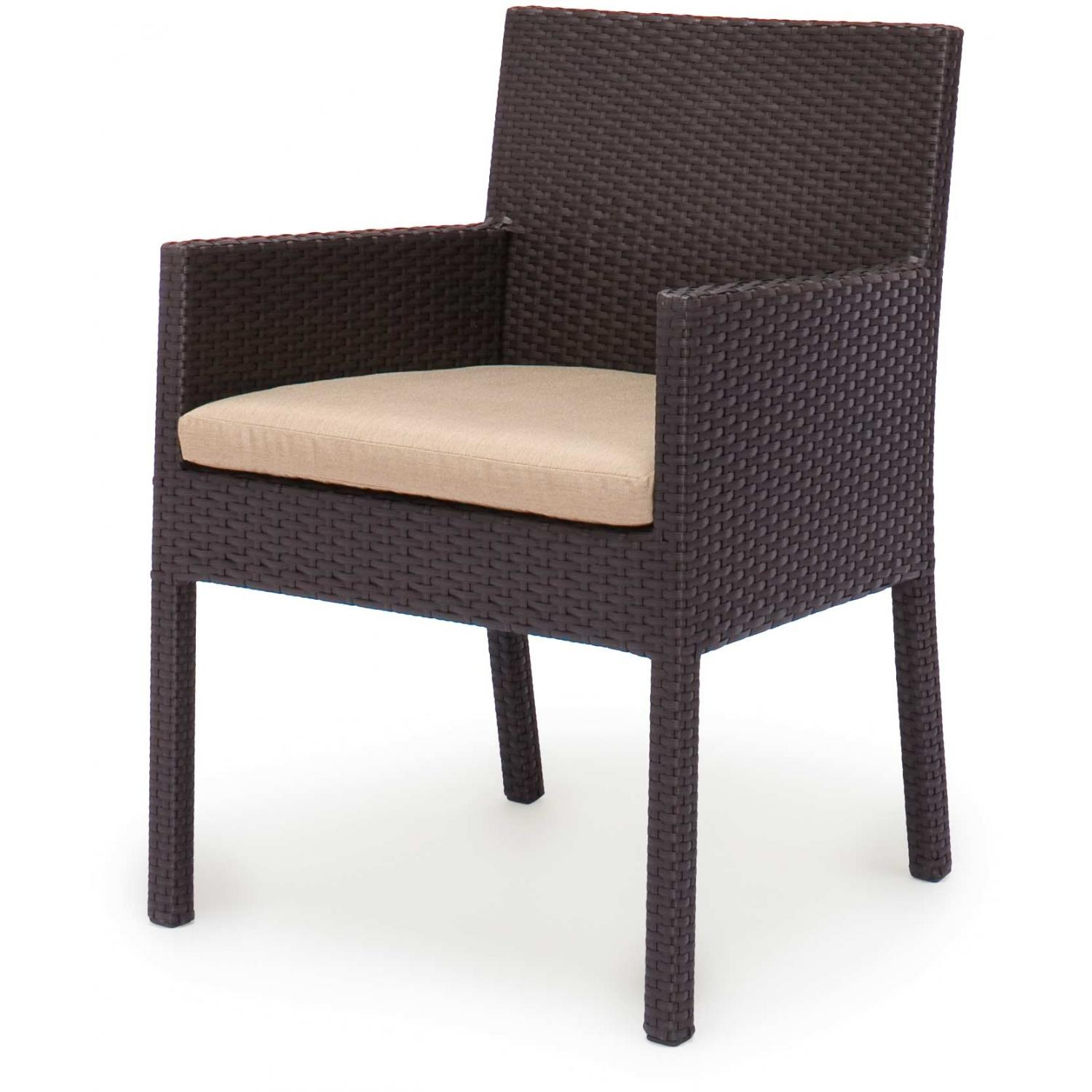 Caluco Maxime Wicker Dining Arm Chair