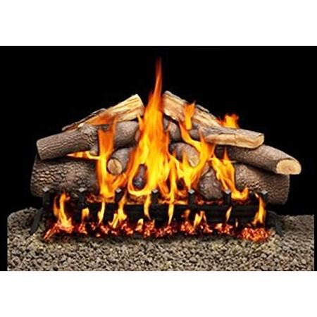 Firegear 21-Inch Advantage Vented Log Set Without Burner