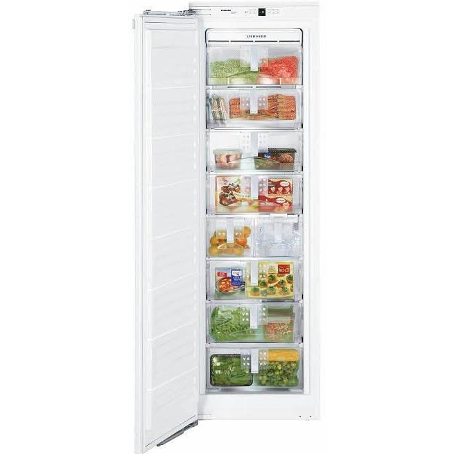Liebherr HF-851 7.6 Cu. Ft. Capacity Integrated Freezer With Ice Maker - Custom Panel Door