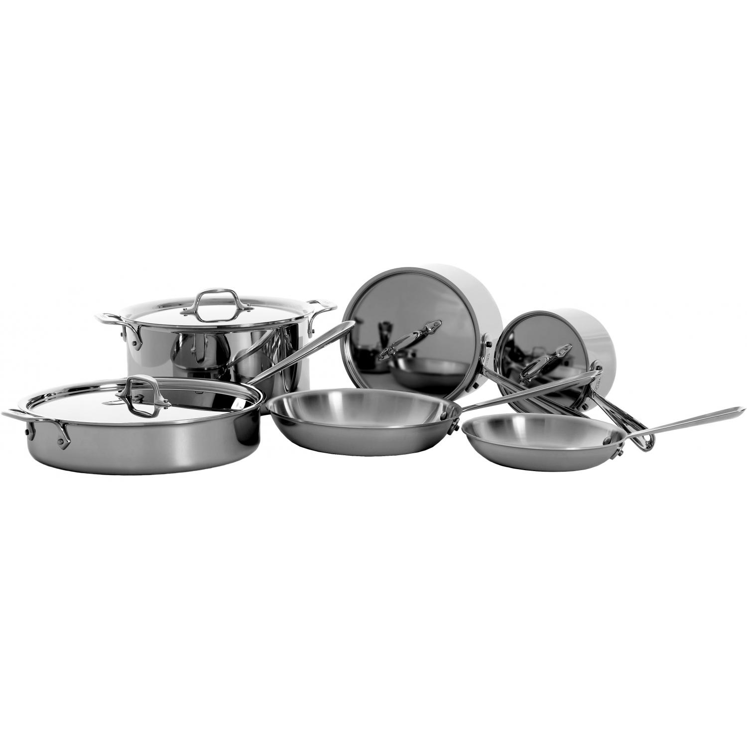 All-Clad Stainless 10-Piece Specialty Cookware Set