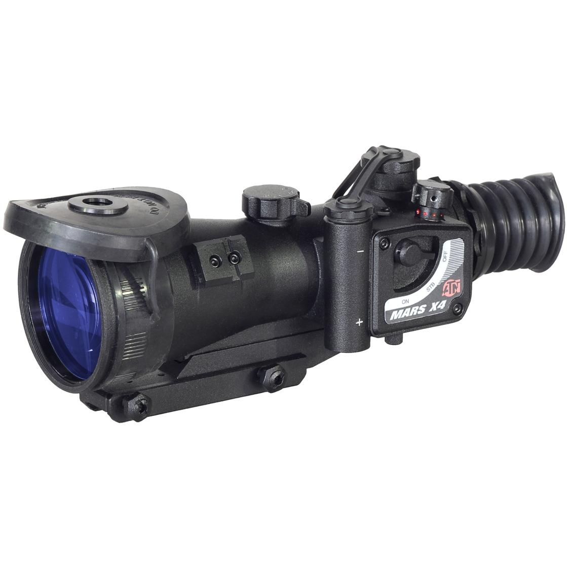 Picture of ATN MARS4X Night Vision Weapon Scope With Gen 3A 64-72 Lp/mm Resolution - NVWSMRS43A