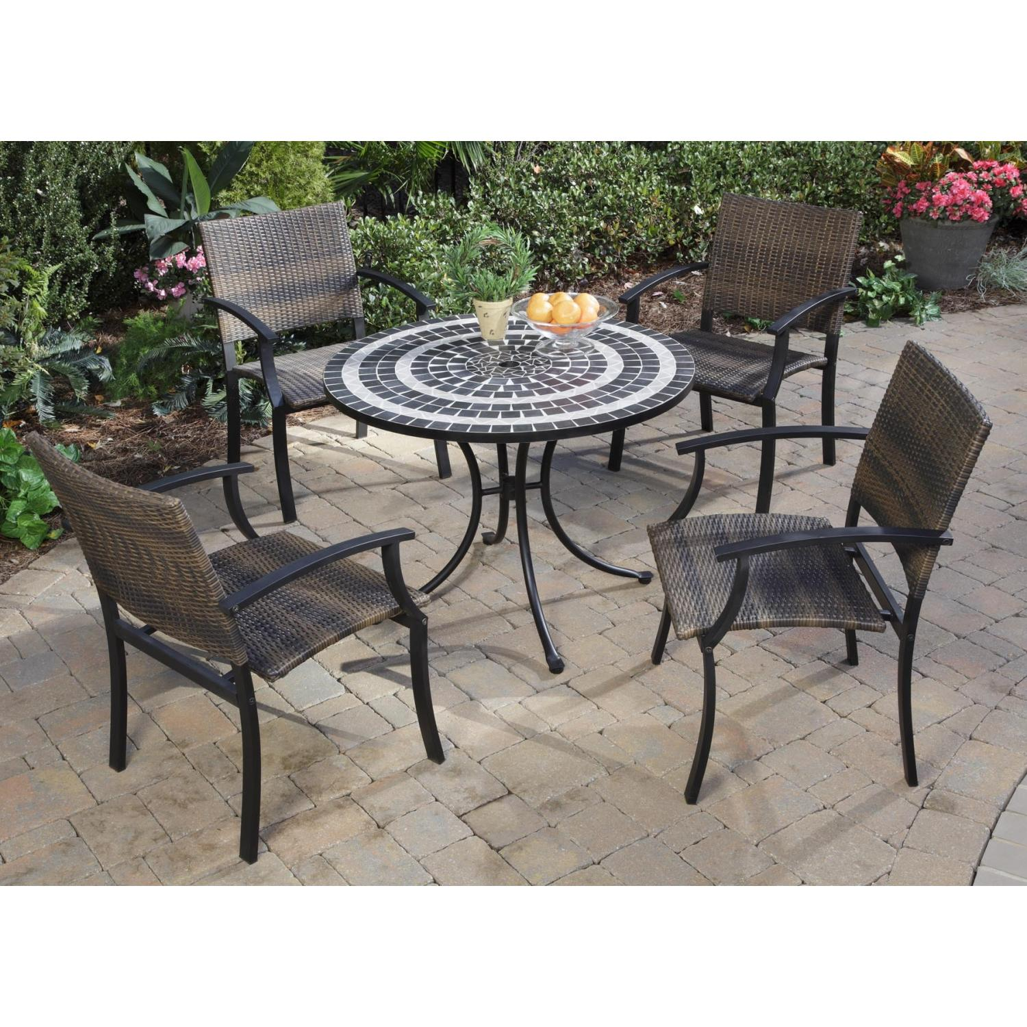 Home Styles Delmar And Newport Outdoor Patio Dining Set