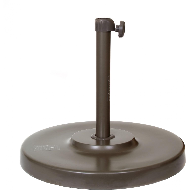California Umbrella 50lb Bronze Umbrella Base With Two Lengths Of Receiver Tubes