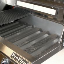 ProFire Professional Series 48-Inch Freestanding Natural Gas Grill With Double Side Burner ProFire Professional Series 48-Inch Natural Gas Grill With Double Side Burner On Cart - Flame Tamers