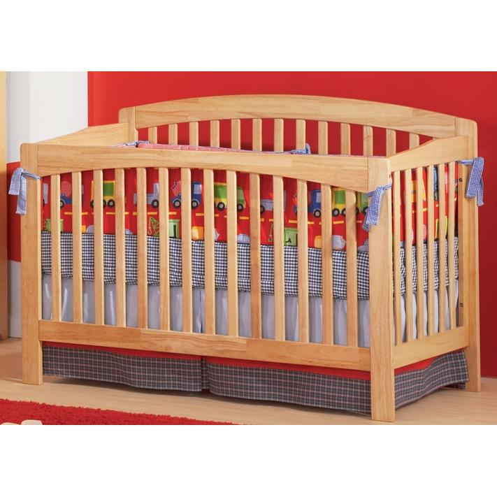 Atlantic Furniture 4003530 Richmond Crib / Full Bed Natural Maple