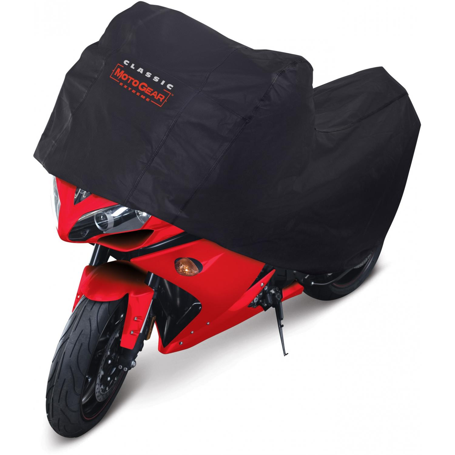 Classic Accessories MotoGear Deluxe Motorcycle Cover - Black - Sport