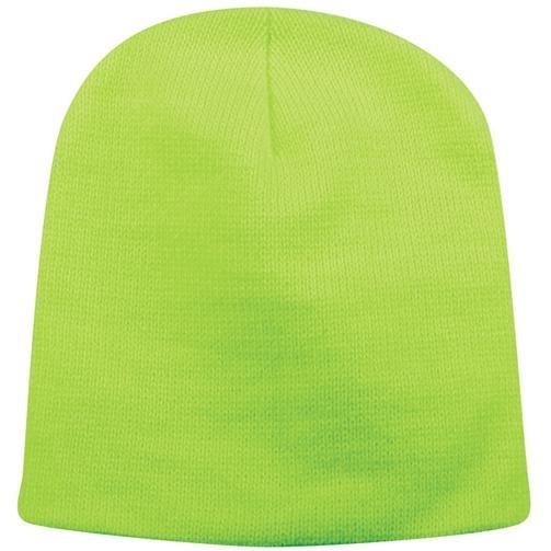 Outdoor Cap Basic Knit Beanie - Neon Yellow