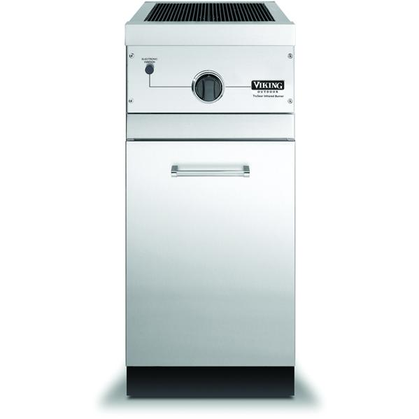 Viking VGIB151TLSS 15-Inch Propane Outdoor TruSear Griller On Cabinet Base