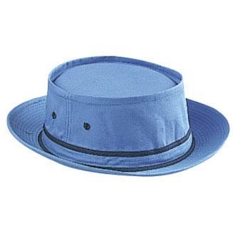 Otto Cap Cotton Twill Fisherman Hat L/XL - Columbia Blue/Navy