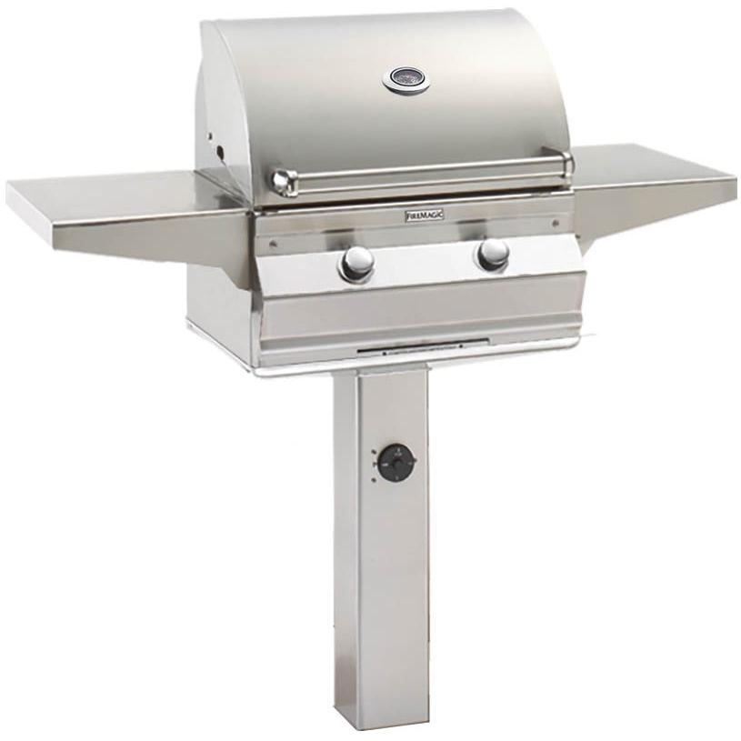 Fire Magic Choice C430i 24-Inch Propane Gas Grill On In-Ground Post - C430s-1T1P-G6