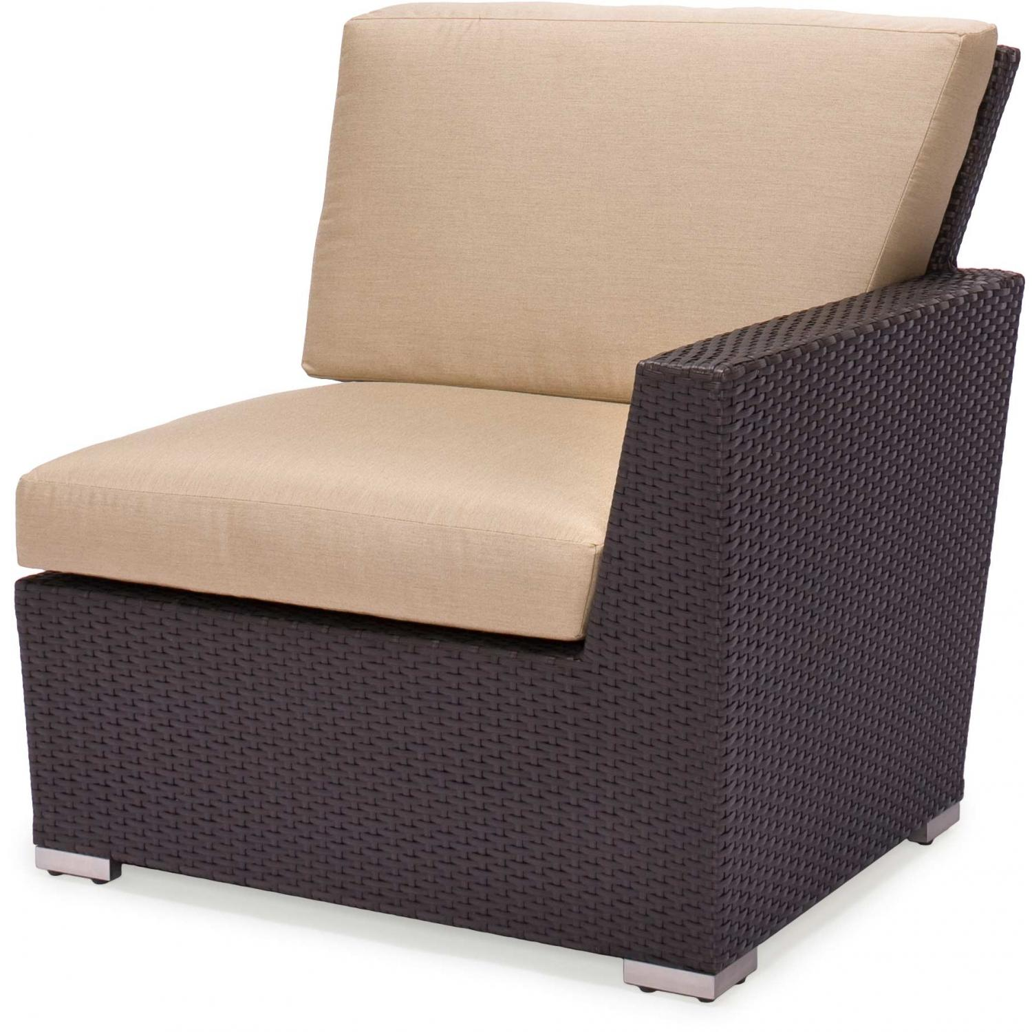 Caluco Maxime Wicker Sectional - Left Arm