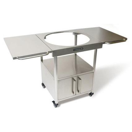 Kamado Joe Brushed Stainless Steel Table