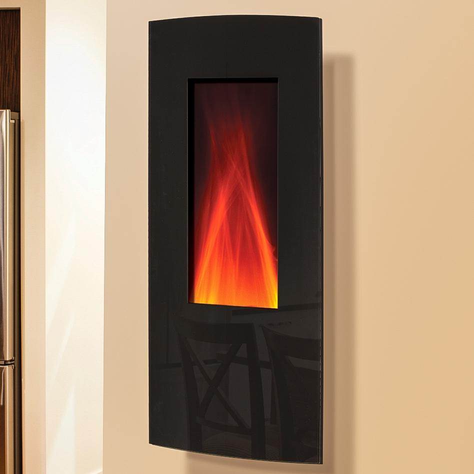 Picture of Amantii 16-Inch Vertical Wall Mount Electric Fireplace - WM-1641
