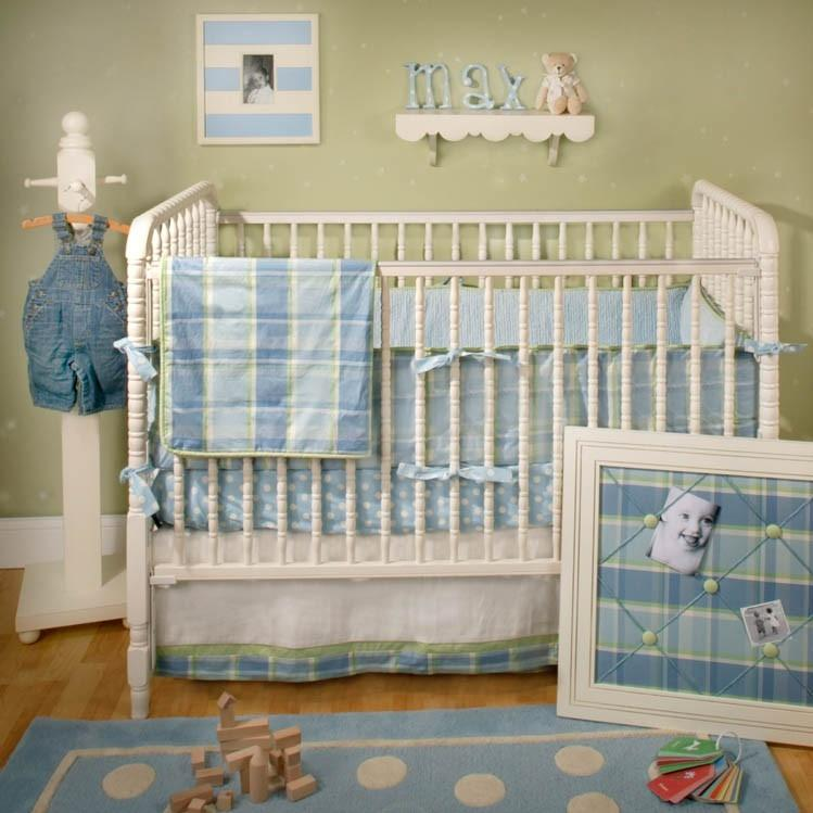 New Arrivals Crib Bumper - Sweet Pea Baby