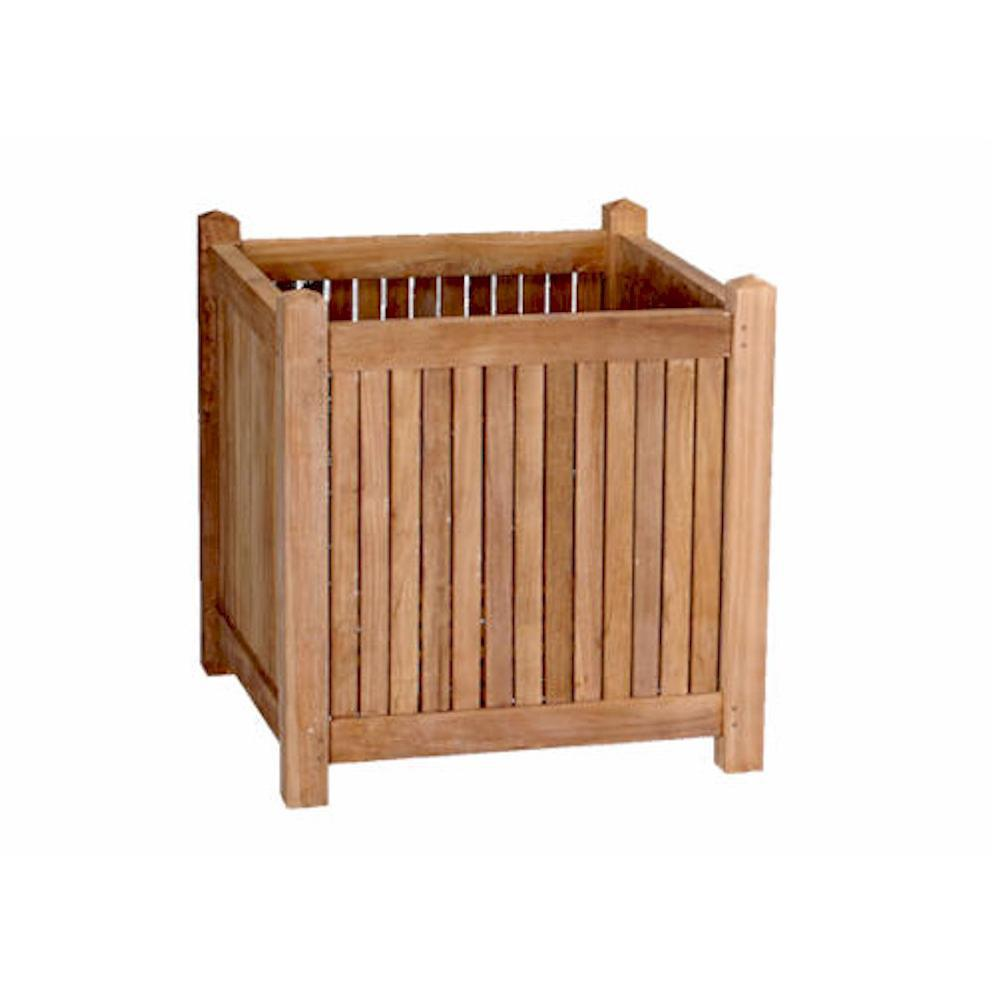 Picture of Anderson Teak 18-Inch Wood Patio Planter Box