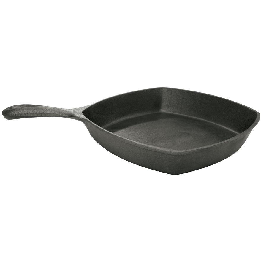 Bayou Classic Skillets 10.5 Inch Square Cast Iron Skillet