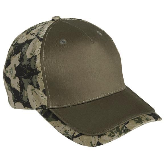 Cobra Caps FeatherFlage Camo Edge Cap - Olive/BS