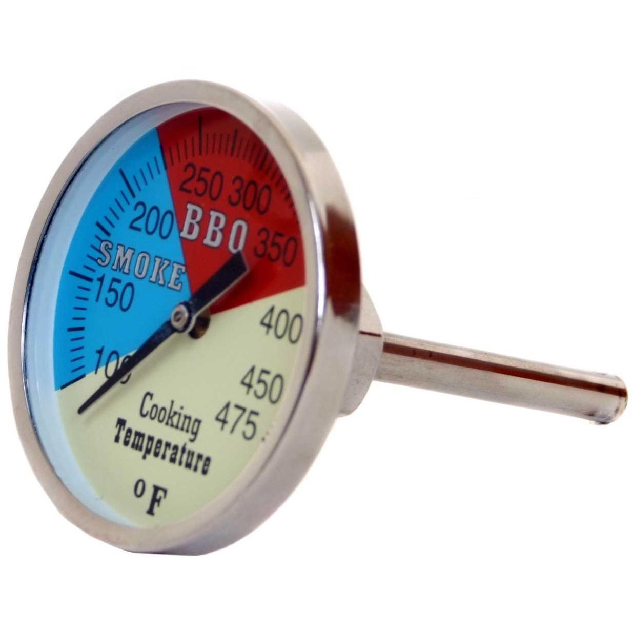 Cajun Grill BBQ Grill Thermometer