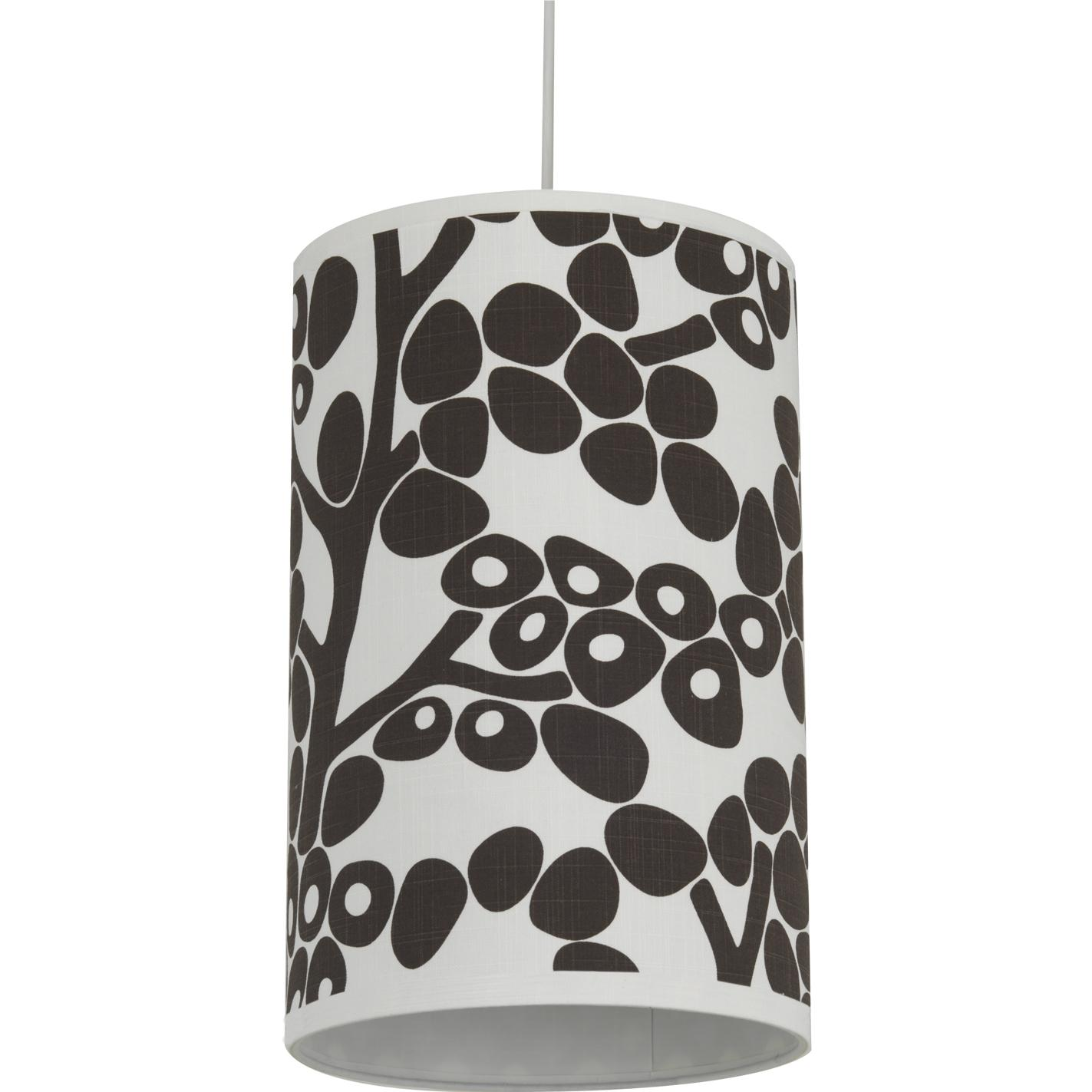 Oilo Cylinder Hanging Lamp - Modern Berries Brown