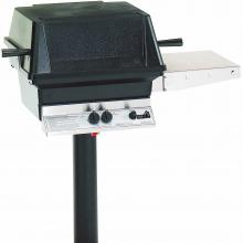 PGS A30 Cast Aluminum Propane Gas Grill On In-Ground Post