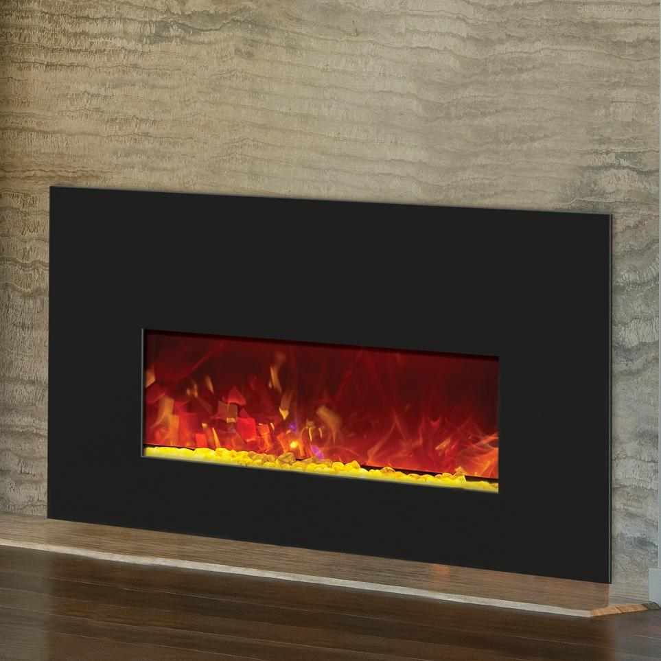 Picture of Amantii 26-Inch Built-In Electric Fireplace Insert - INSERT-26-3825