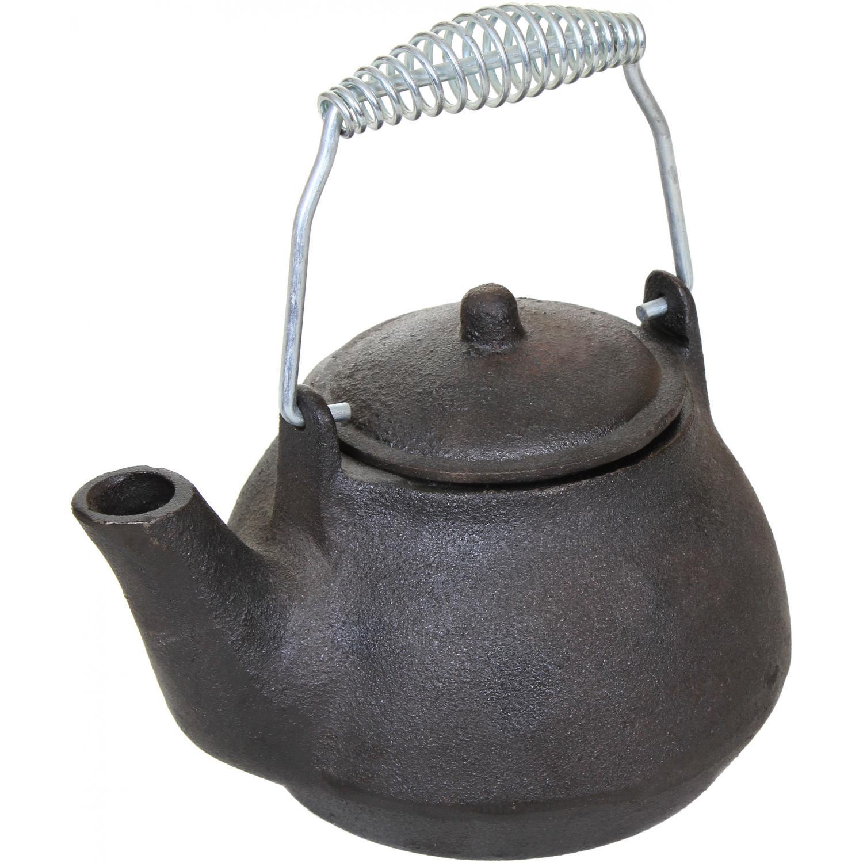 Picture of Cajun Cookware 1-Quart Seasoned Cast Iron Tea Kettle - GL10499S