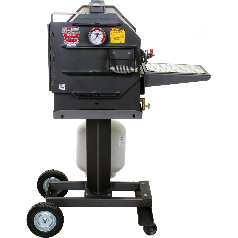 Picture of Cajun Express Smoker - 4 Rib Propane Pressure Smoker