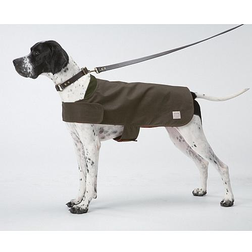 Picture of Filson Shelter Cloth Dog Coat - Otter Green - Small - 13 Inch
