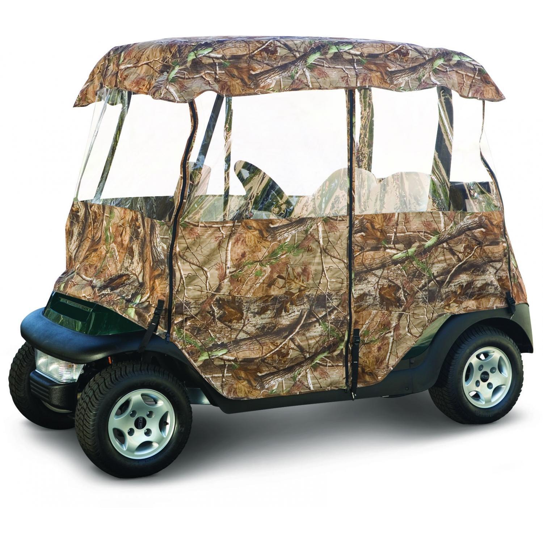 Classic Accessories Deluxe Camo Golf Car Enclosure - RealTree AP Camo