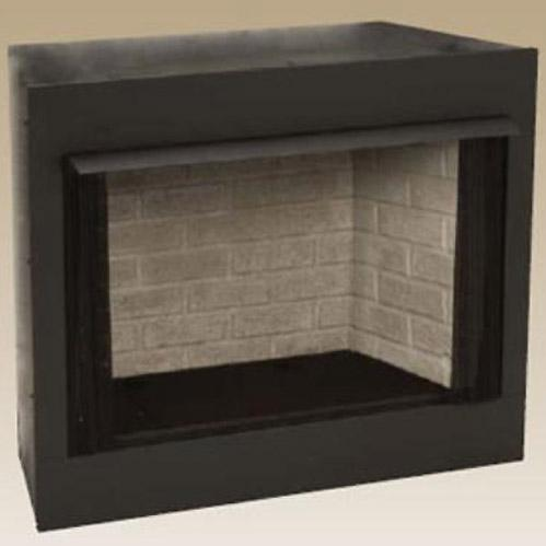 Monessen GRUF32C-R 32-Inch Radiant Face Circulating Vent-Free Firebox With Refractory Firebrick