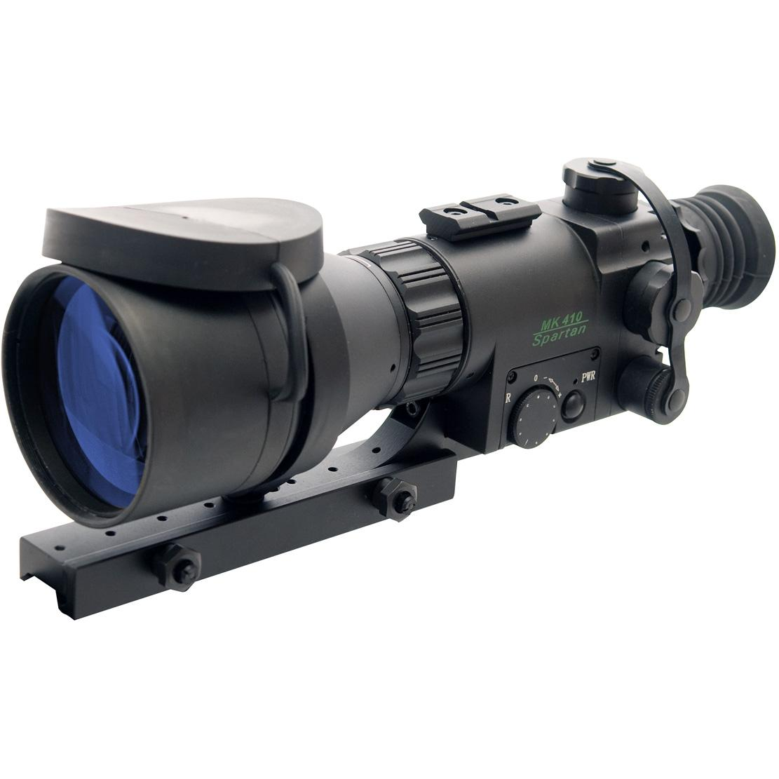 Picture of ATN Aries MK410 Spartan Night Vision Weapon Scope With Gen 1 40 Lp/mm Resolution - NVWSM41010