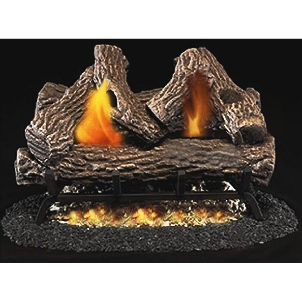 Firegear 18-Inch Great Lakes Oak Vented Log Set Without Burner