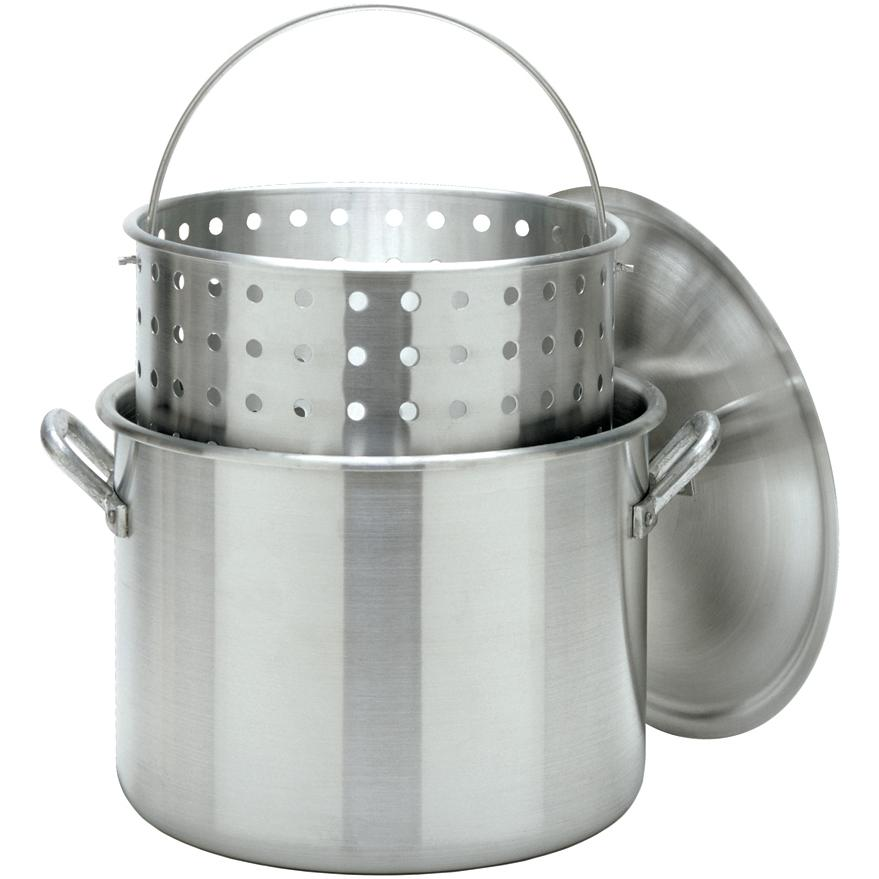Bayou Classic 80 Qt Stockpot With Basket