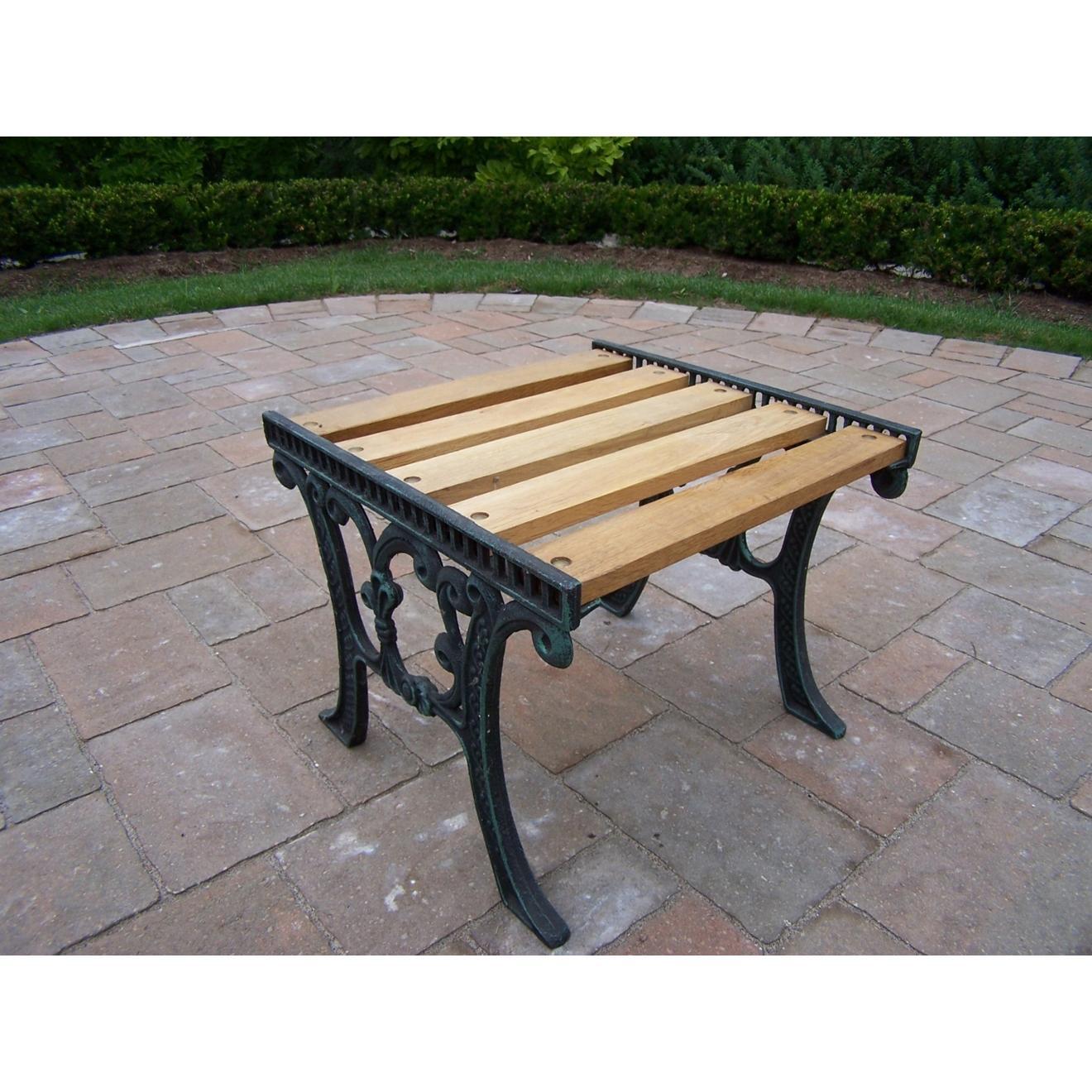 Oakland Living Wooden End Table - Verdi Green