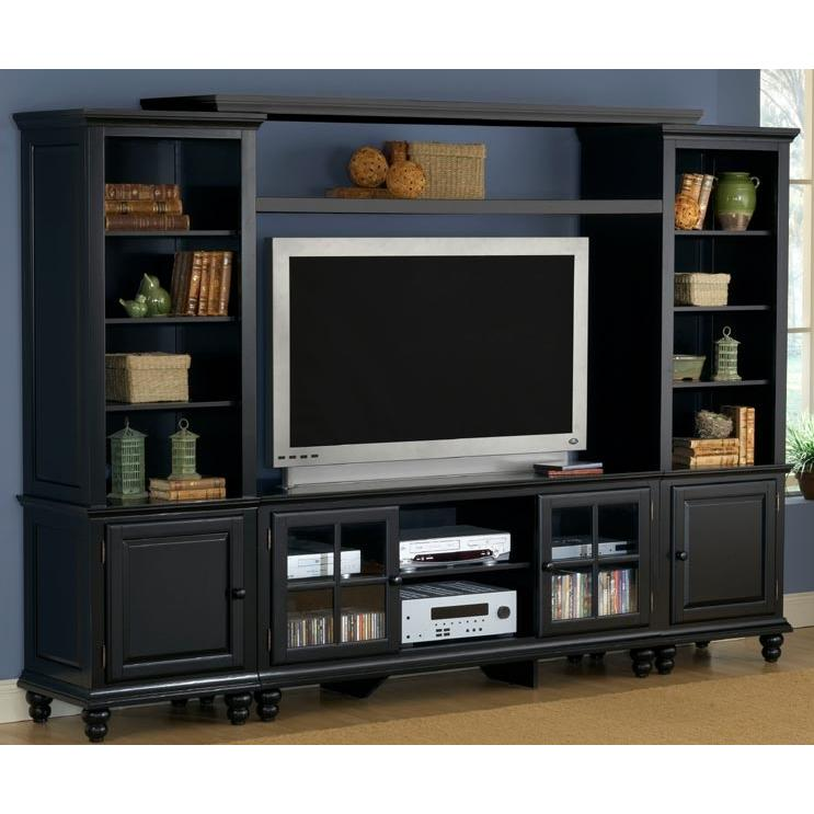 Hillsdale Grand Bay Entertainment Wall Unit 61 Black - 6123LEC