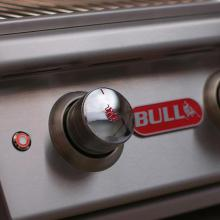 Bull Angus 30-Inch 4-Burner Freestanding Natural Gas Grill - 44001 Bull Control Knob & Interior Lights Button