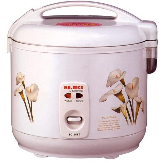Sunpentown 10 Cups White Rice Cooker - SC-168Z