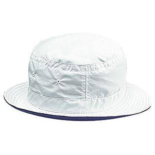 Otto Cap Polyester Microfiber Reversible Bucket Hat S/M - White/Navy