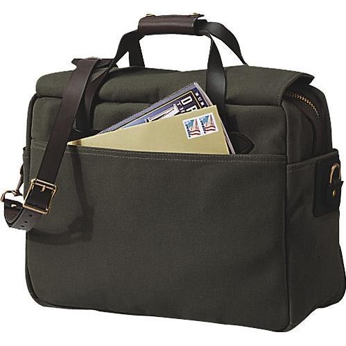 Filson Padded Laptop Bag/Briefcase Otter Green