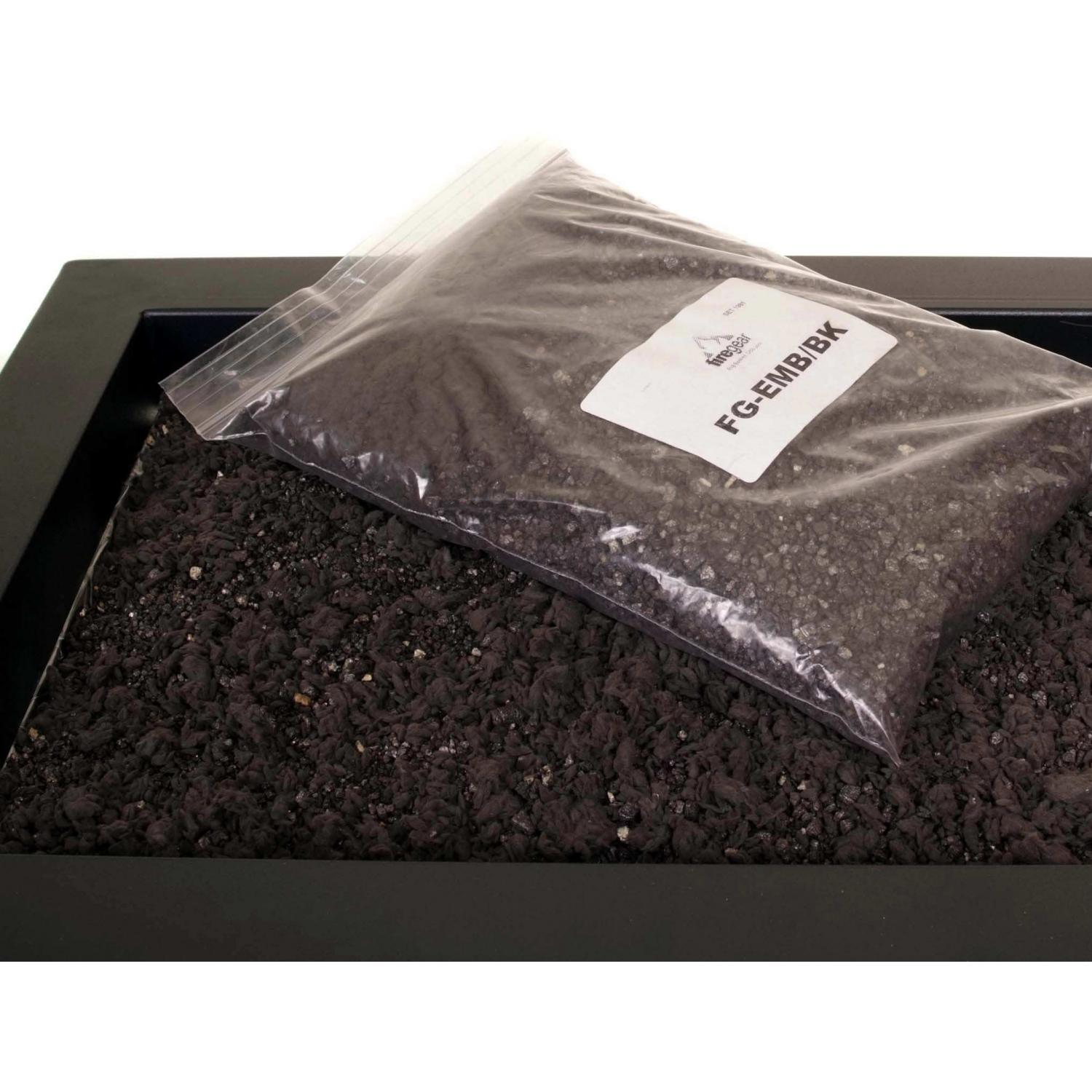 Firegear Black Magic Black Embers With Black Vermiculite - (8 Oz)