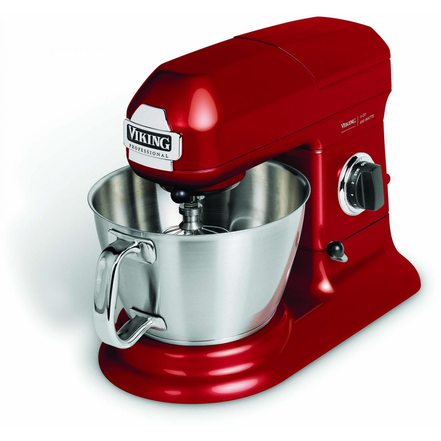 Viking VSM500BR Professional 5-Quart Stand Mixer - Bright Red