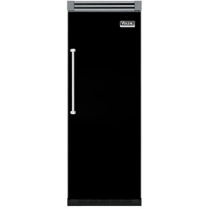 Viking VCFB530R 15.9 Cu. Ft. Capacity Professional Series Built In Right Hinge Freezer - Black