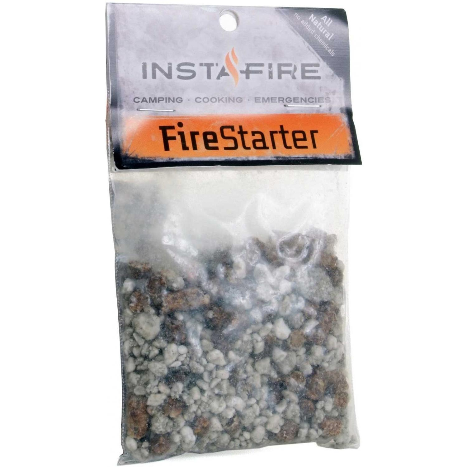 Insta-Fire Fire Starter & Emergency Cooking Fuel - Box of 24 Packets